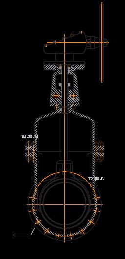 задвижки стальные  30с527нж
