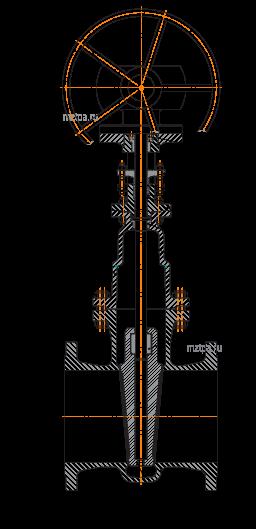 задвижки стальные 30с527нж_2