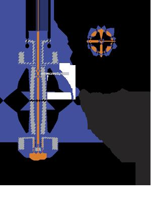 фланцевый затвор под привод 2