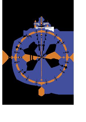 фланцевый затвр под привод 1